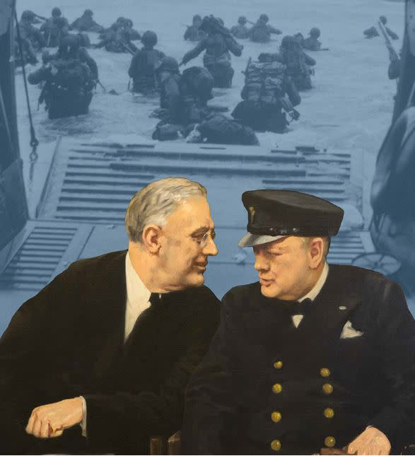 D-Day:  FDR and Churchill