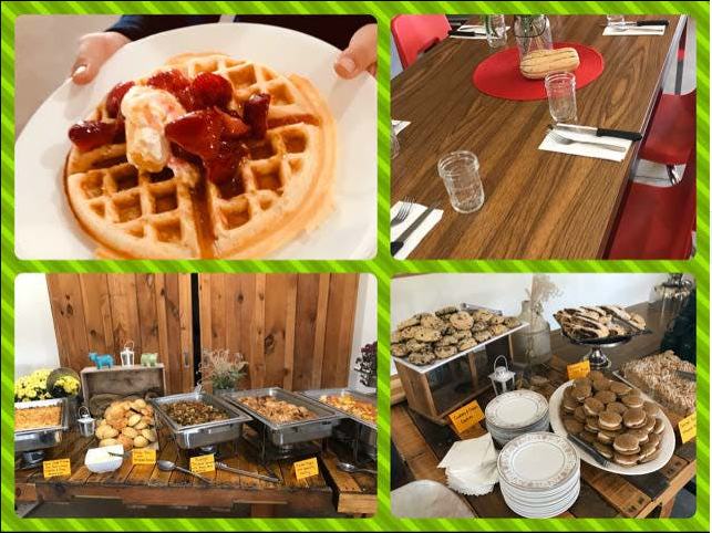 November Farm to Table Brunch Buffet at Sprout Creek Farm - Two Seatings