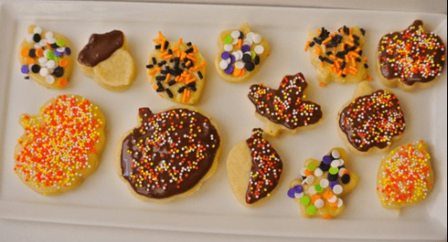 Kids Baking class Fall Sugar Cookies at Sprout Creek Farm!