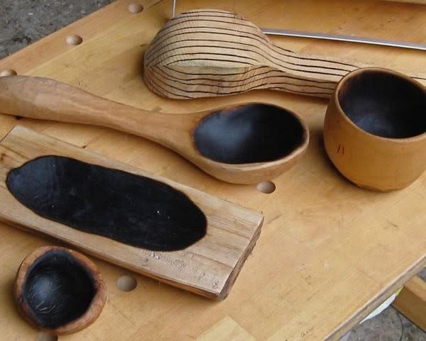 Children Workshop:  Wooden Spoon Making with Lost Art Workshop at Troutbeck