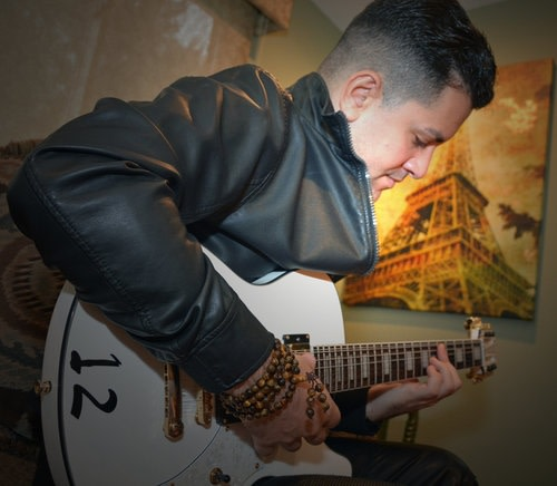Jazz guitarist Abe Ovadia at Tivoli Library