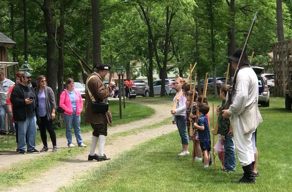 Revolutionary War Encampment Weekend at Brinckerhoff House Historic Site