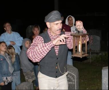 Historic Graveyard Tours at St. James