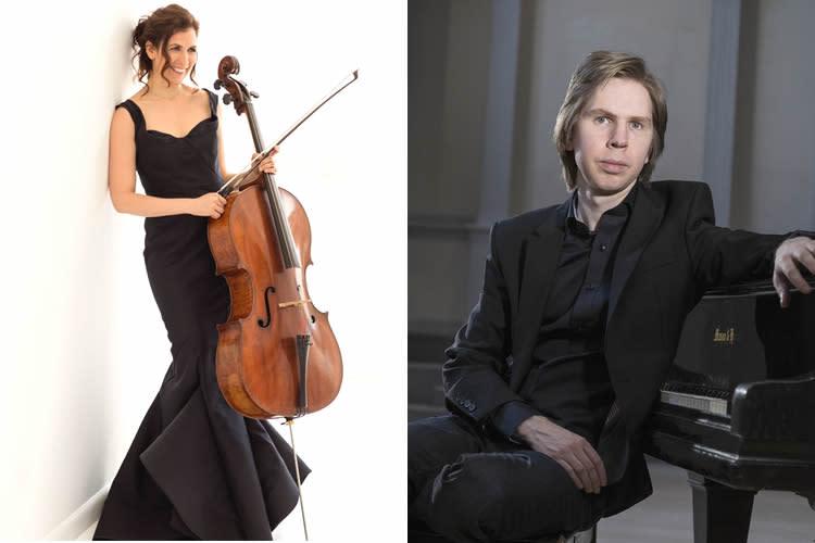 Howland Chamber Music Circle Spring Concert - Inbal Segev, Cello wtih Joho Pohjonen, Piano
