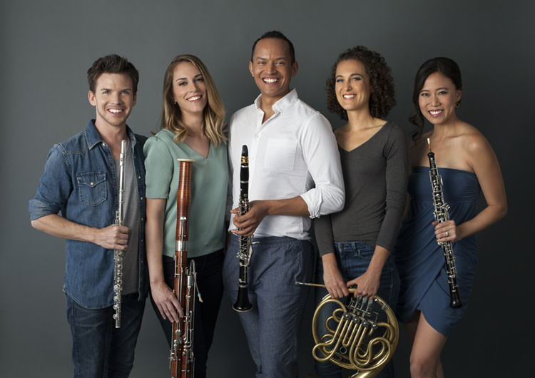 Howland Chamber Music Circle Spring Concert - Windsync Woodwind Quintet