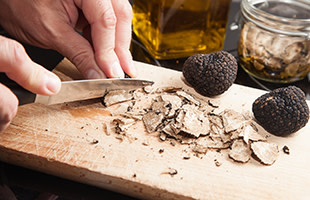"""Black and White Truffle Dinner"" at The Culinary Institute of America"