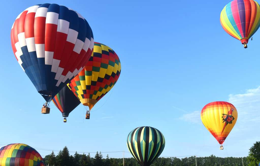 Hudson Valley Hot-Air Balloon Festival 2019 at Dutchess County Fairgrounds
