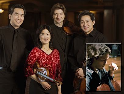 Howland Chamber Music Circle Presents Ying Quartet with Zuill Bailey