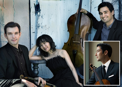 Howland Chamber Music Circle Presents Horszowski Trio with Masumi per Rostad