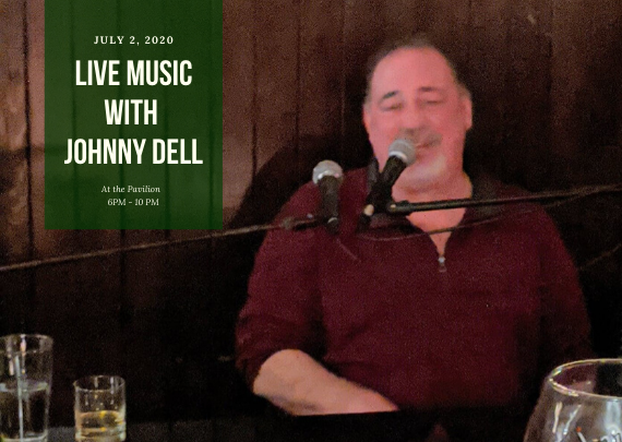 Live Music with Johnny Dell at Le Chambord at Curry Estate