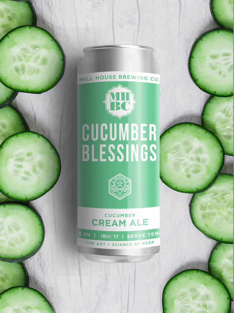 Cucumber Blessings Beer Release Party at Mill House Brewing Company