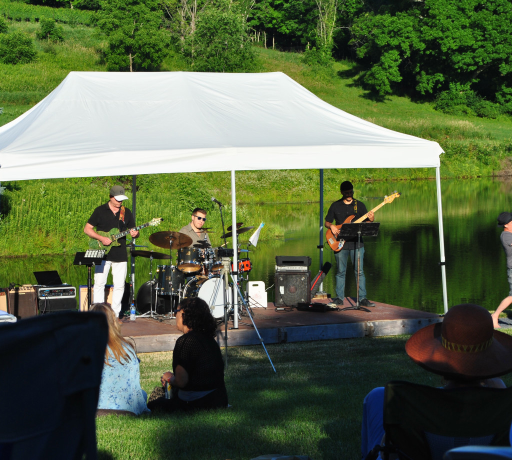 Jazz at the Vineyard Outdoor Summer Concert Series at Millbrook Winery