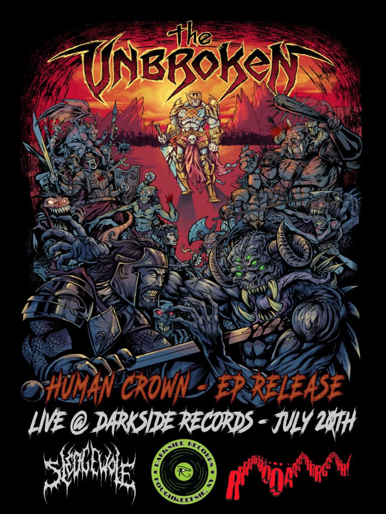 The Unbroken CD Release at Darkside Records