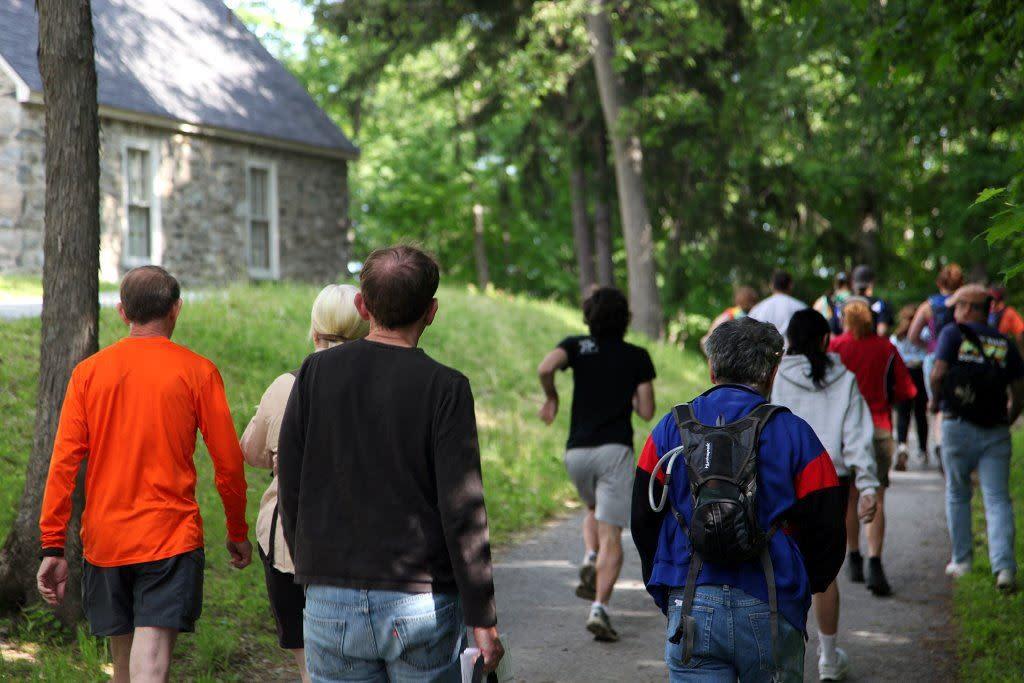 Annual End2End Hike - Check in at Vanderbilt Mansion