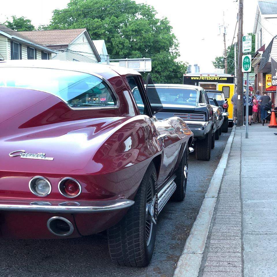 Friday Night Lights Cruise Night in Red Hook Village