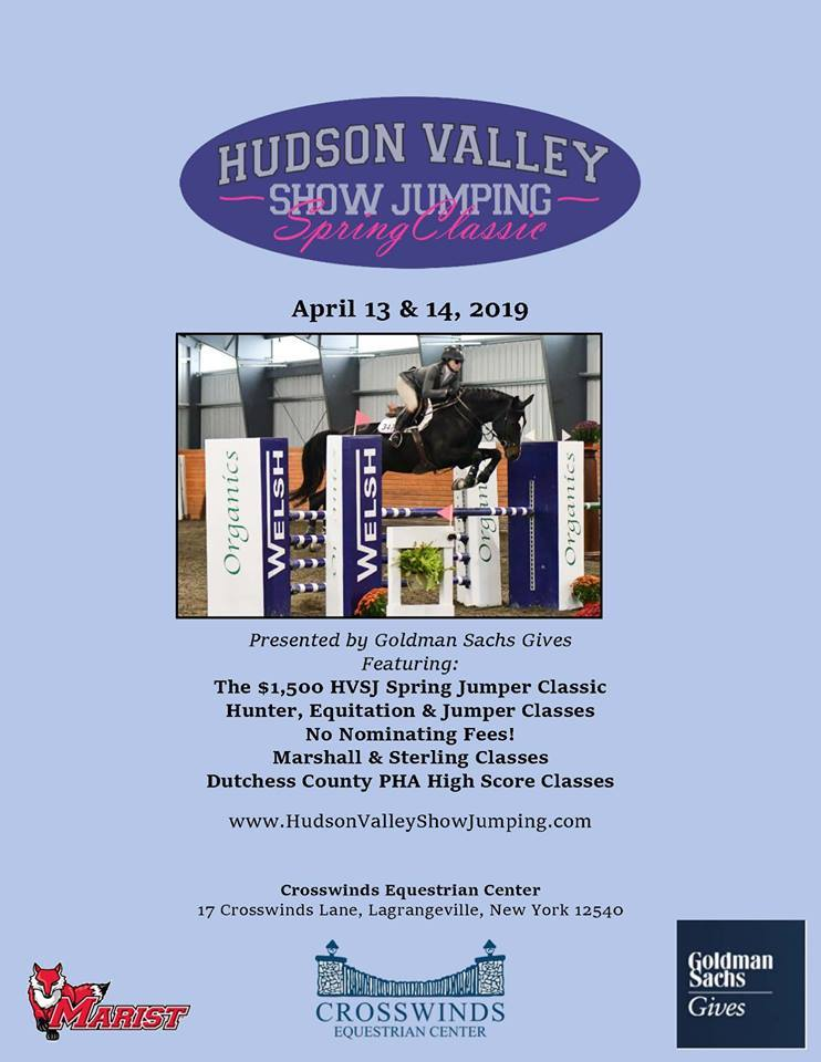 Hudson Valley Show Jumping Spring Classic at Crosswinds Equestrian Center