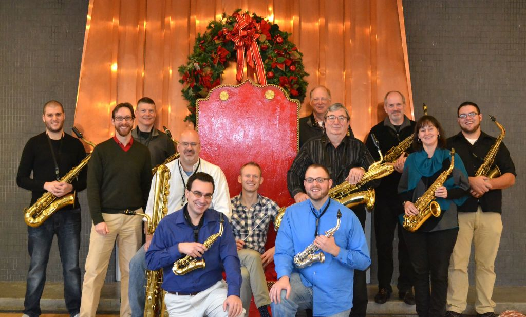 8th Annual Hudson Valley Saxophone Orchestra Christmas Concert at Revel 32!