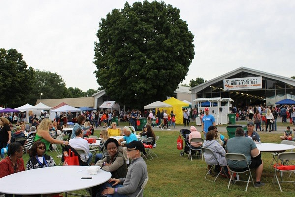 Hudson Valley Food and Wine Fest at Dutchess County Fairgrounds