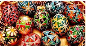 The Art of Pysanky Ukrainian Easter Eggs at Art Mid-Hudson