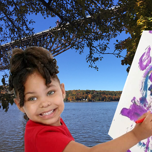 Paint in the Park at Mid-Hudson Children