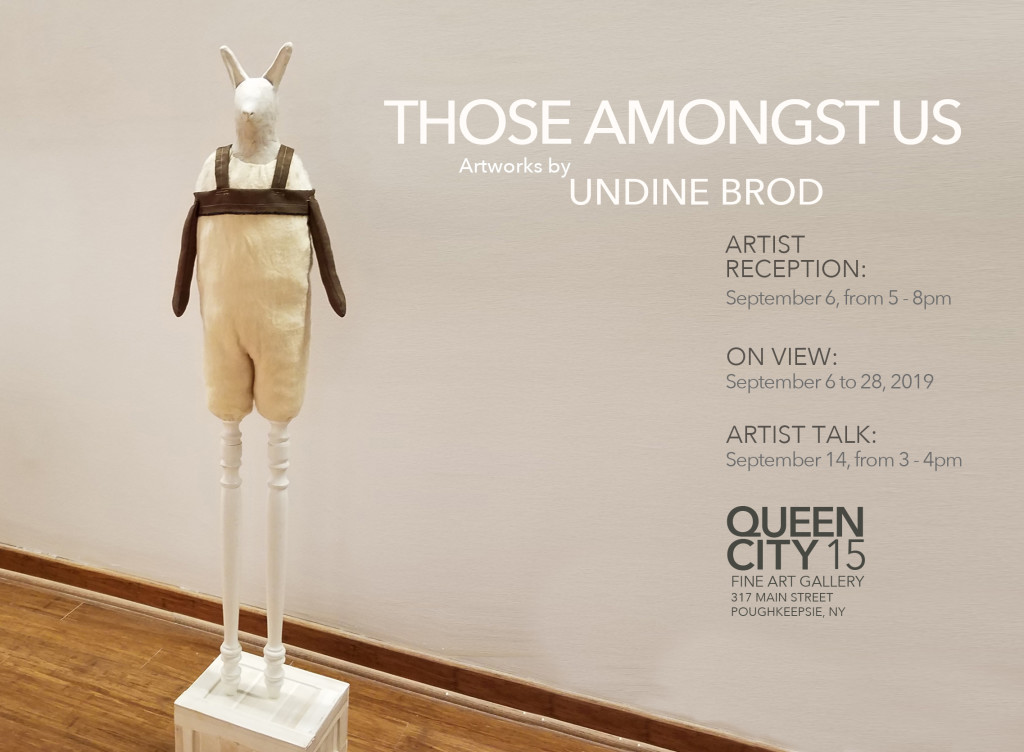 Those Amongst Us: Artwork by Undine Brod (Artist Talk) at Queen City 15 Fine Art Gallery