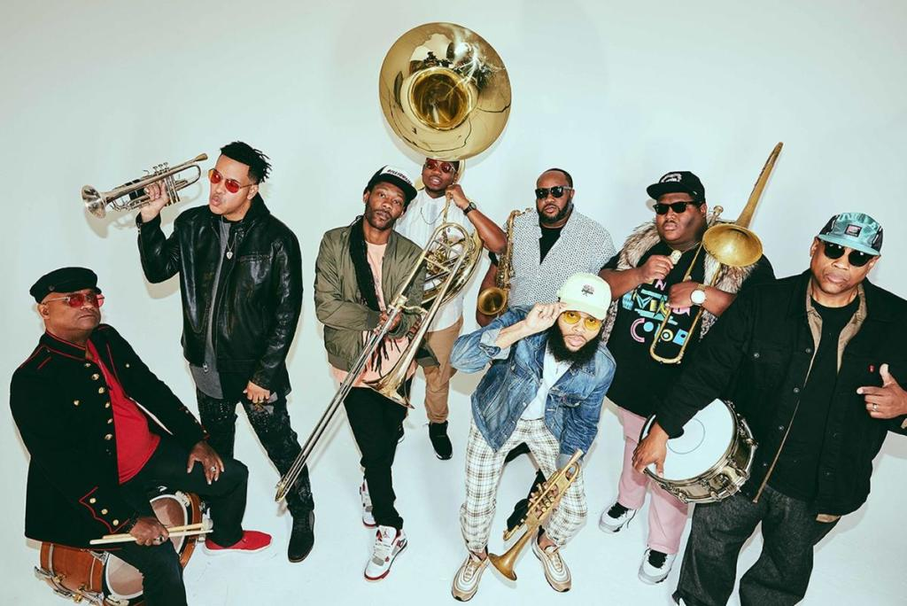 A Mardi Gras Party  featuring The Soul Rebels: Poetry in Motion Tour at Revel 32