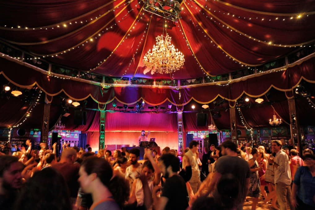 Cancelled: Bard SummerScape 2020 ~ Spiegeltent Performances at Bard College