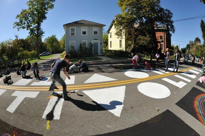 Annual Tivoli Street Painting Festival