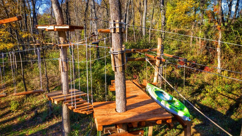 Treetop Adventures Kick-Off Week at Barton Orchards
