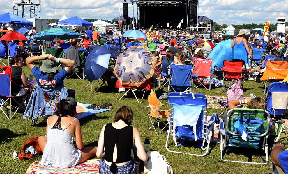 Tail Winds Music Fest 2019 at Hudson Valley Regional Airport