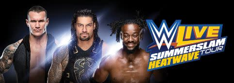 WWE Live Summerslane Heatwave Tour at MJN - Majed J. Nesheiwat Convention Center