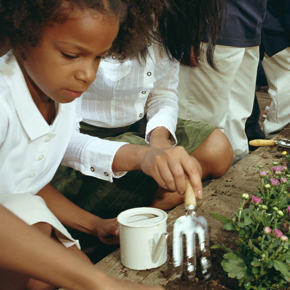 Fertile Minds Gardening Time at Mid-Hudson Children