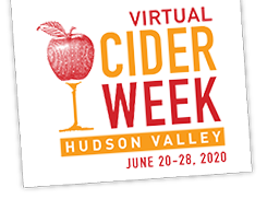 VIRTUAL:  Treasury Cidery Virtual Tour as part of Cider Week Hudson Valley 2020