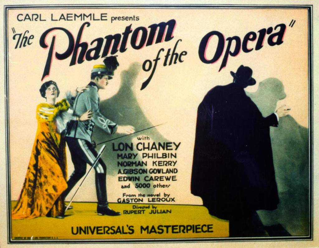 """The Phantom of the Opera"" - Silent Film with Music at The Stissing Center"