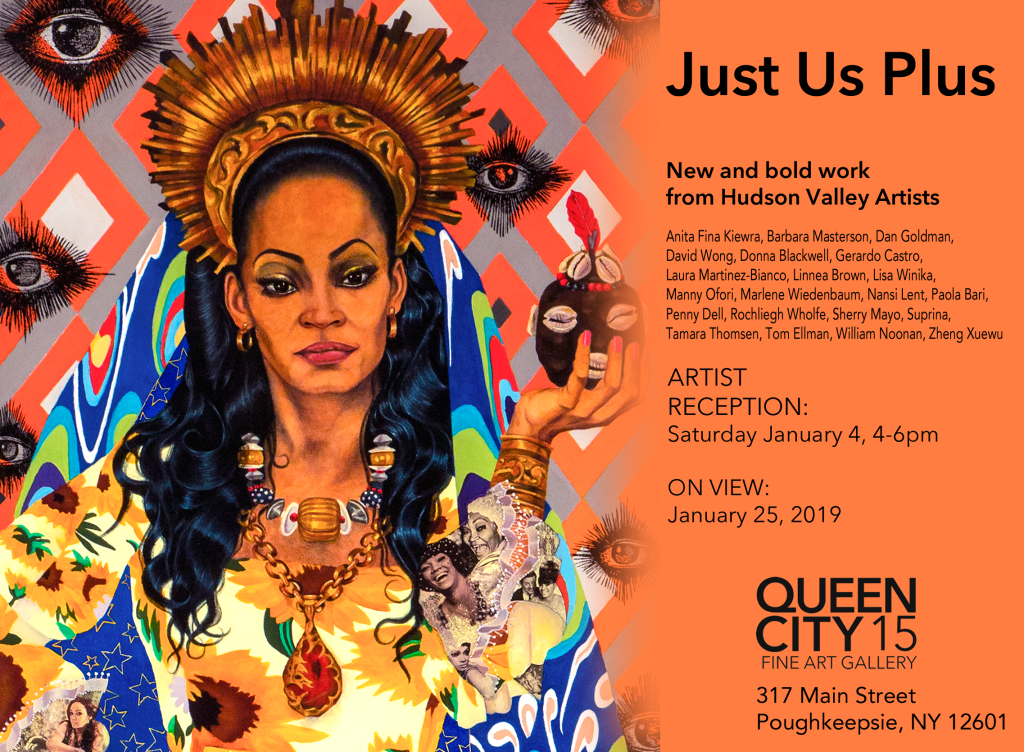 """Just Us Plus"" Exhibit at Queen City 15 Gallery - Opening Reception"