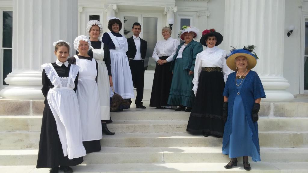 America's Elite in the Downton Abbey Era Theme Tour at Staatsburgh State Historic Site
