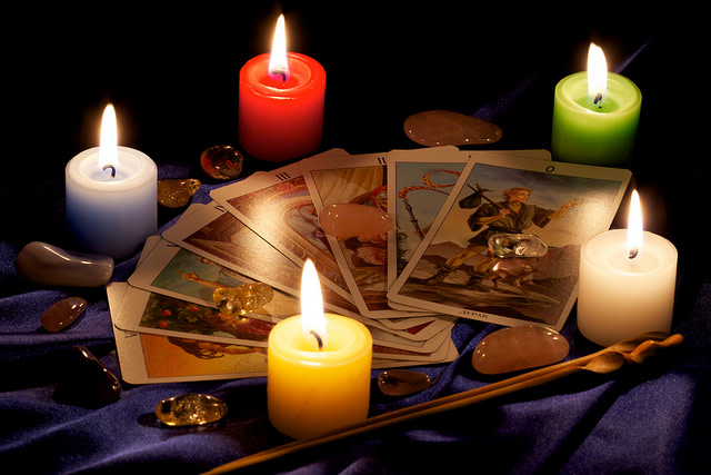 Astrological & Intuitive (Oracle/Tarot Card) Readings at Ye Olde Candle House Gift Shoppe