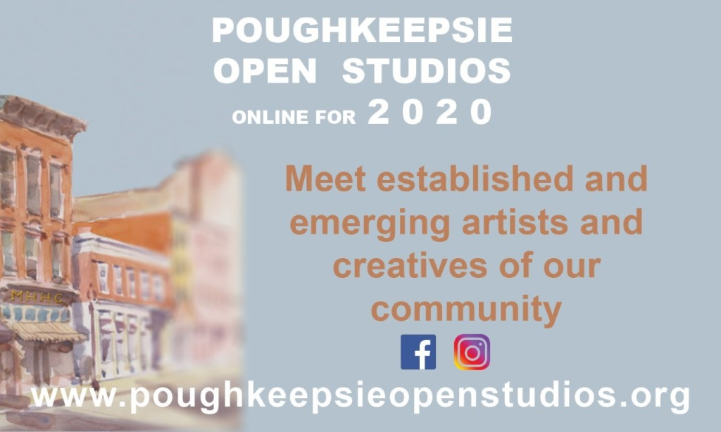 VIRTUAL:  Poughkeepsie Open Art Studios Tour Day