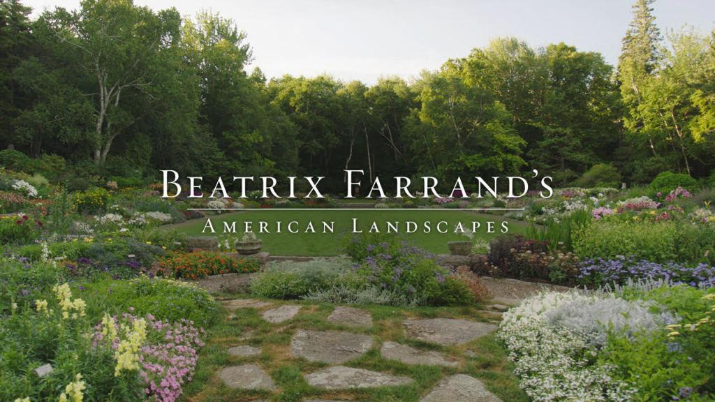 "VIRTUAL: ""Beatrix Farrand"