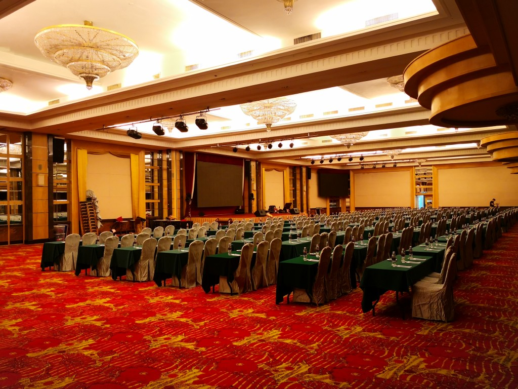 Function Venue @ Imperial Grand Ballroom - Classroom Style