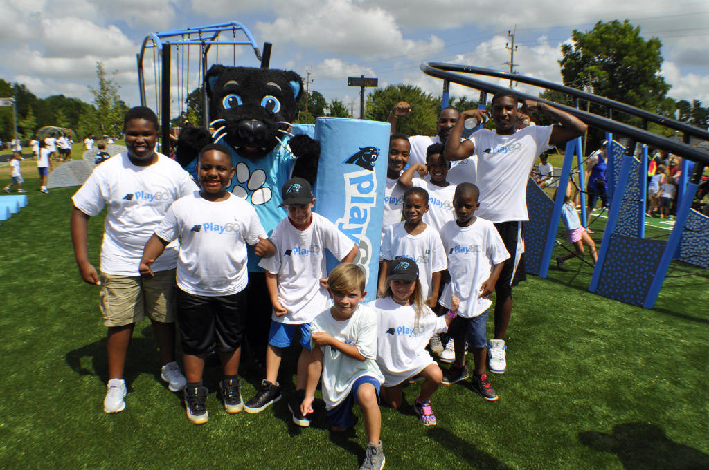 Panthers NFL Play60 Course