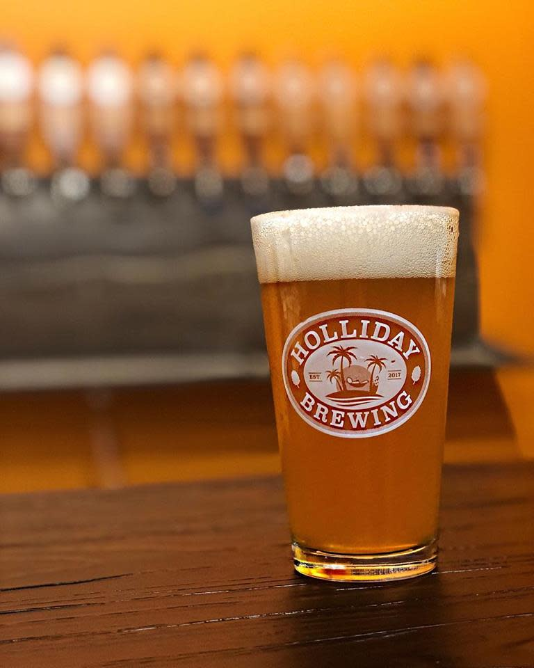 Holliday Brewing - Glass of Beer