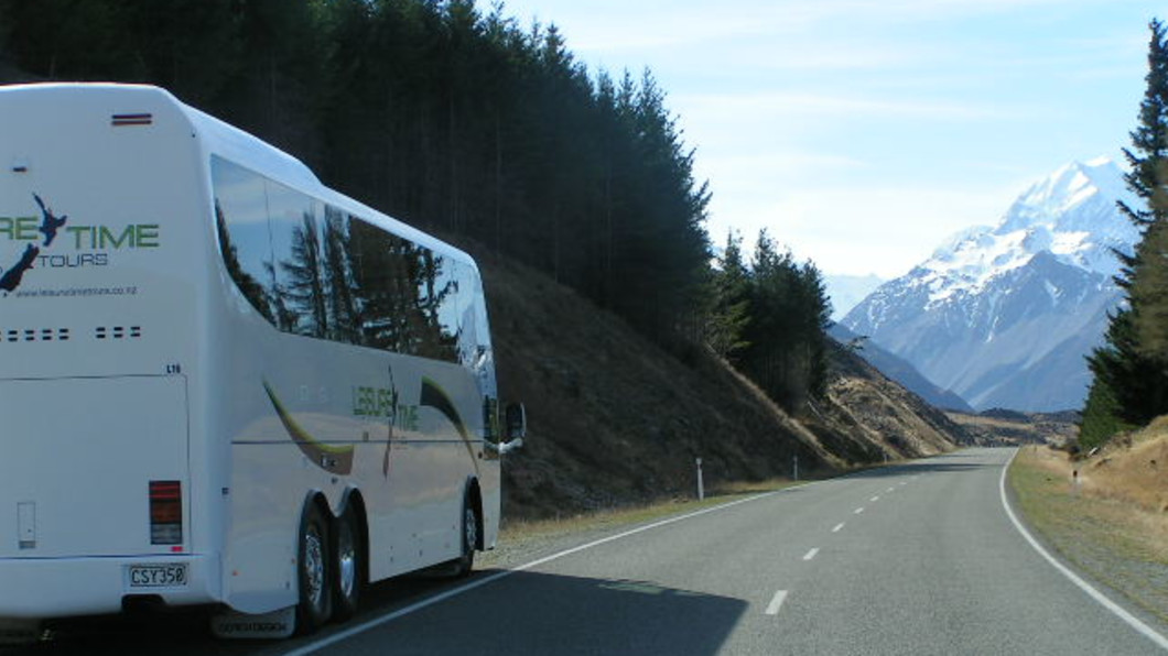 Leisure Time Tours on the road