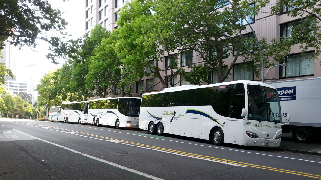 Leisure Time Coaches doing event transfers