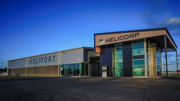 Heliport at Hamilton Airport