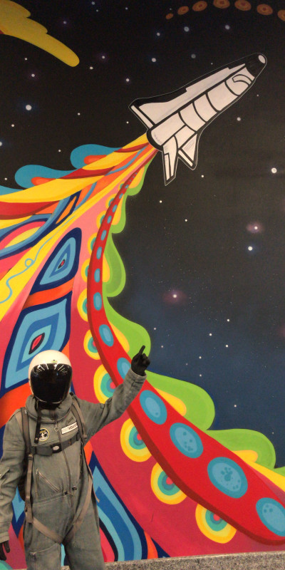 Spacey Casey Gonzo Mural 2